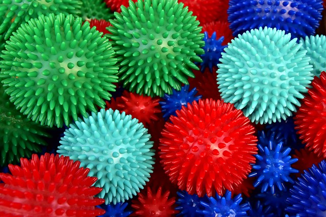 Massage ball releases